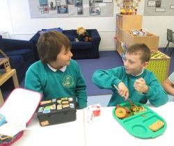 personalised learning room lunch